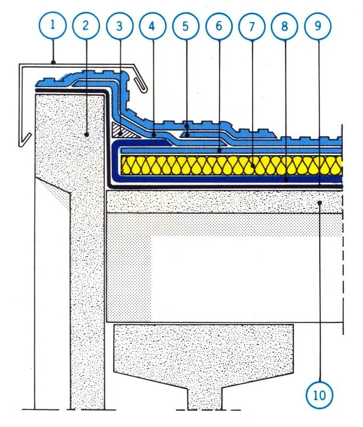 Sappi dettaglio di bordo copertura piana prefabbricata for Dettagli di incorniciatura del tetto di gambrel